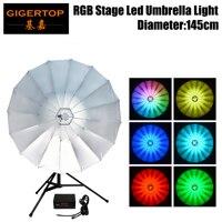 TIPTOP Stage Licht Nieuwe Paraplu Licht 34 Inch Met 114 pcs 0.2 W Tricolor RGB LEDs  gemakkelijk Transport (Kan Worden Gevouwen)  Setup & Installatie