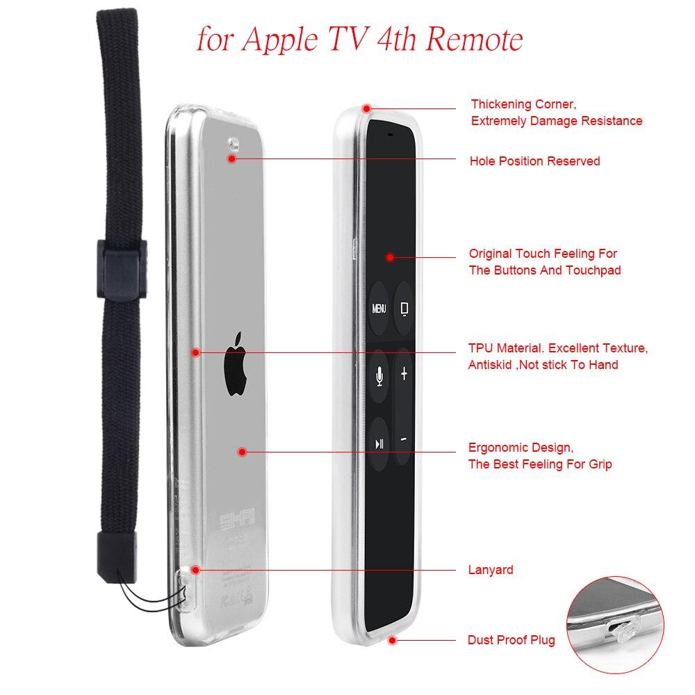 Protective Remote Case Mini TV Remote Control With Soft