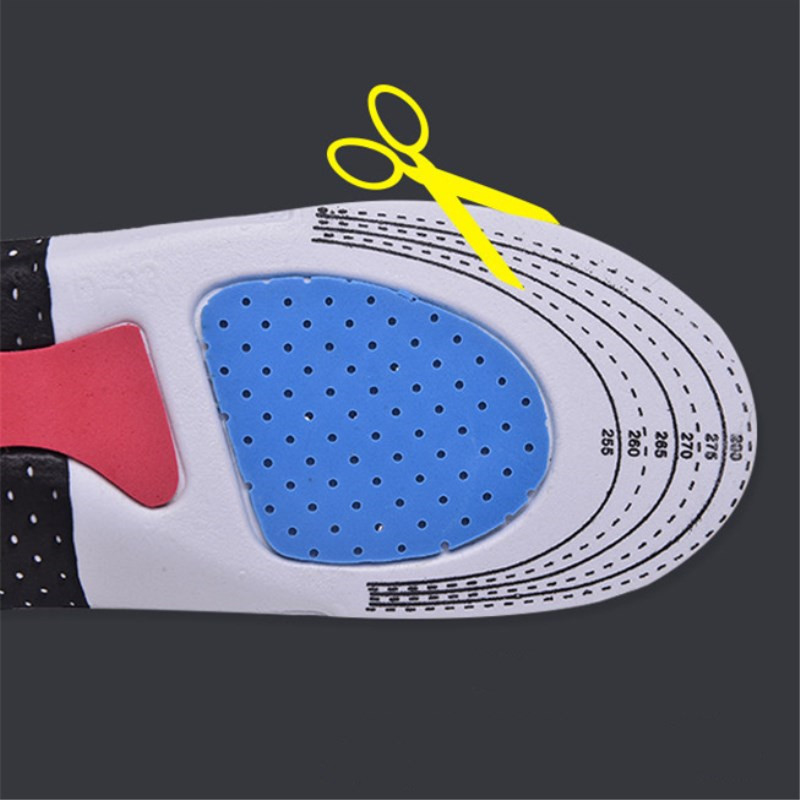 Image 4 - Silicone Gel Insoles Foot Care Orthopedic Insoles Fascitis Plantar Heel Sports Shoes Pads Running Insole For Men Hiking Camping-in Insoles from Sports & Entertainment