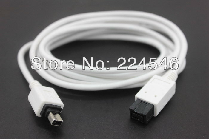 Genuine F3N403-06-APL IEEE 1394 cable - 9 pin FireWire 800/4 pin FireWire 400 6 ft ( IEEE 1394 ) 9pin to 4pin ieee 1394 4 pin male to 6 pin male 4p to 6p firewire ilink dv connection cable 1 5m 3m 5m double magnetic double shield