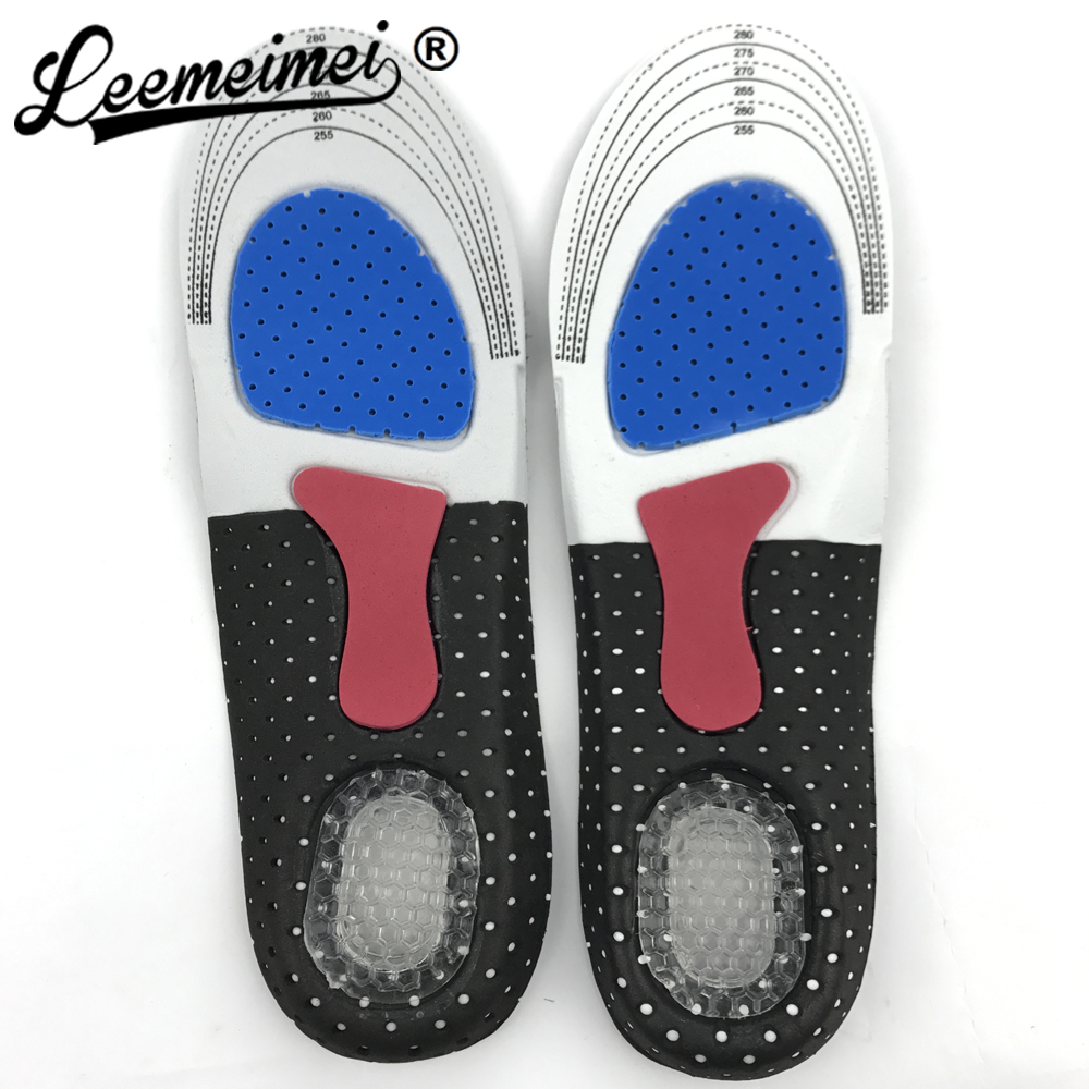 Unisex Orthotic Arch Support Sport Shoe Pad Sport Running Gel Insoles Insert Cushion for Men Women foot care expfoot orthotic arch support shoe pad orthopedic insoles pu insoles for shoes breathable foot pads massage sport insole 045