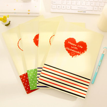 4pcs / lot 26.5 * 18cm Cute Love B5 Large Notebook Diary Notepad Gift Book Korean Stationery