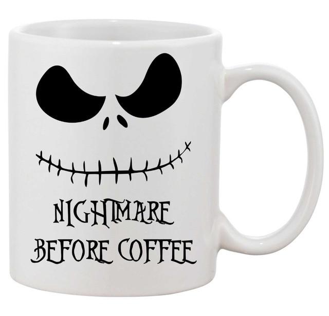 nightmare before christmas mugs skellington nightmare before coffee mug ceramic tea mugen porcelain home decal