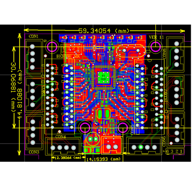 Image 5 - OEM mini module design ethernet switch circuit board for ethernet switch module 10/100mbps 5/8 port PCBA board OEM Motherboard-in Network Switches from Computer & Office