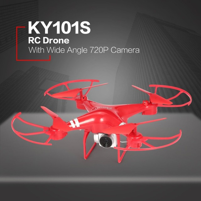 KY101S WiFi FPV Wide Angle 720/1080 Camera Selfie RC Drone Altitude Hold Headless Mode 3D Flips One Key Return Quadcopter 18Mins