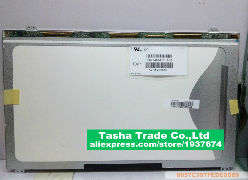 For Samsung 300E4A SF410 Q470 305V4A LCD Display Screen LTN140AT21-002 LCD Screen Display 1366*768 UP&DOWN Screw Holes NewFor Samsung 300E4A SF410 Q470 305V4A LCD Display Screen LTN140AT21-002 LCD Screen Display 1366*768 UP&DOWN Screw Holes New