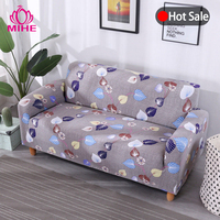 Sectional Sofa Cover Elastic Printed Plaid Case On Sofas Covers Stretch Couch Cover Slipcover Sofa Armchair 1/2/3/4 seater SFT02