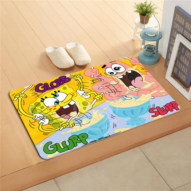 Pou0026p171 Custom Spongebob Doormat Home Decor Door Mat Floor Mat Bath Mats  Foot Pad T Y718w171k In Mat From Home U0026 Garden On Aliexpress.com | Alibaba  Group