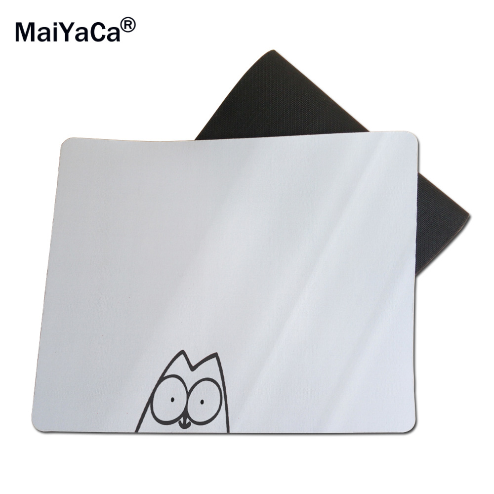 Maiyaca Funny Animals Pug Wallpaper Gaming Rectangle Silicon Durable Mousepad 103d 215cm X 18cm Wallpapers Cartoon Silicone Rectangular Mouse Pads Mice Mat Pad 1822cm And