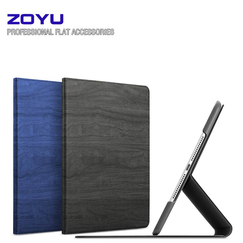 ZOYU Slim Silk Smart Case for ipad air 2 / air 1 Flip Ultra Thin Leather Stand Cover for Apple Ipad 5 6 Sleep/Up
