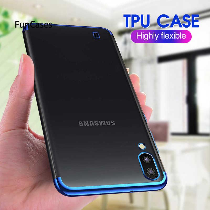 Đối Với Samsung Galaxy A70 A50 A40 S A30 A20 A10 M30 M20 M10 Mềm Rõ Ràng Bìa Đối Với S10E S10 Cộng Với a6 J4 J6 A750 A9 TPU Điện Thoại Trường Hợp