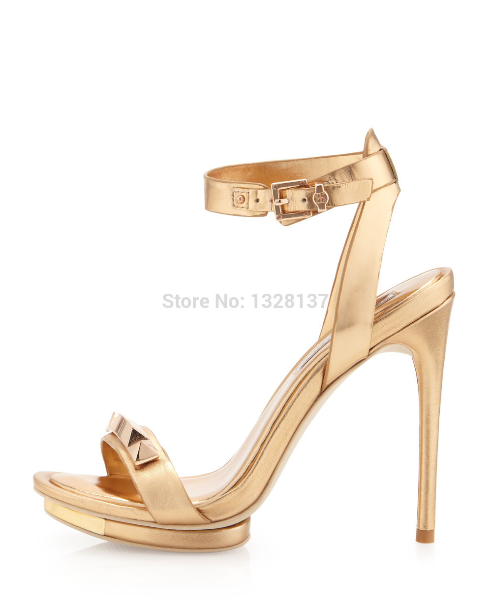 Compare Prices on Gold Strappy Platform Heels- Online Shopping/Buy ...