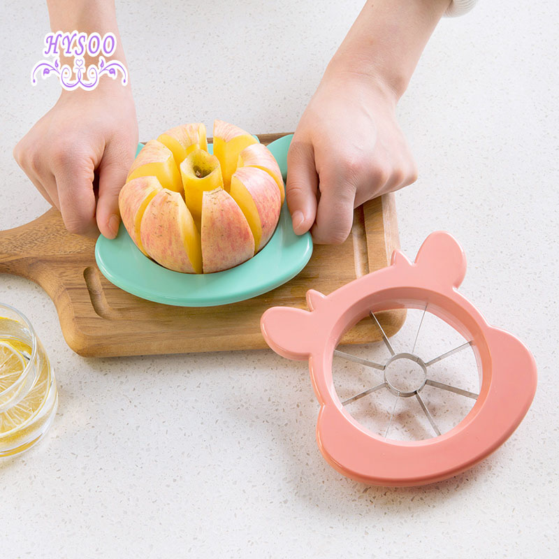 Stainless steel cut apple to the nuclear fruit slicer cut fruit cutters apple knife HYSOO