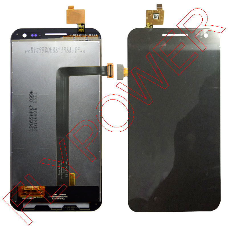 ФОТО For ZOPO 9520 ZP998 lcd display+touch screen digitizer assembly black by free shipping;100% warranty