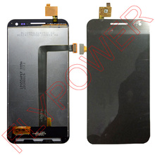 For ZOPO 9520 ZP998 lcd display+touch screen digitizer assembly black by free shipping;100% warranty