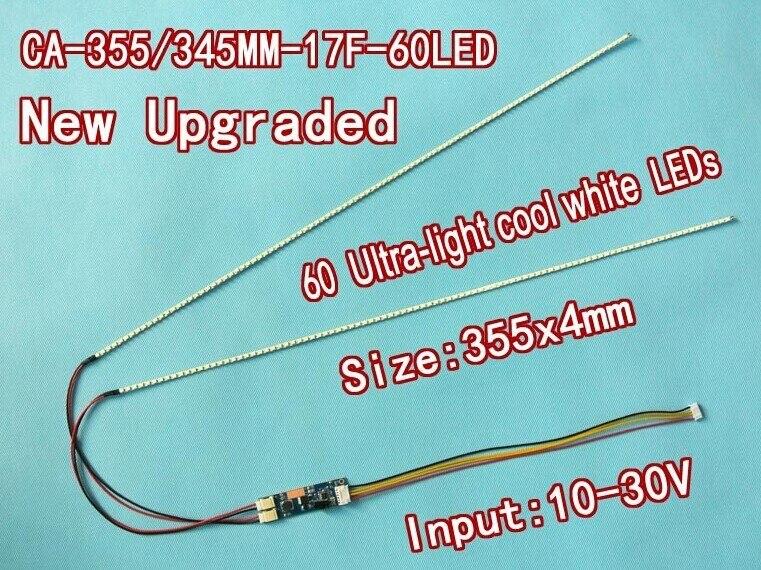 2PCS/LOT 24 540mm Adjustable brightness led backlight strip kit,Update 24inch-wide LCD CCFL panel to LED backlight