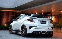 Material de ABS alerón trasero de coche SPOILER tronco para Toyota C-HR CHR IZOA gran spoiler 2017 de 2018 de 2019 ROWEN estilo con color