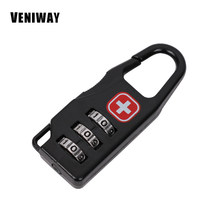 VENIWAY Password lock for Waterproof 15 Inch Laptop Backpack Computer Notebook Bag SWISS Antitheft Backpack bag(China)