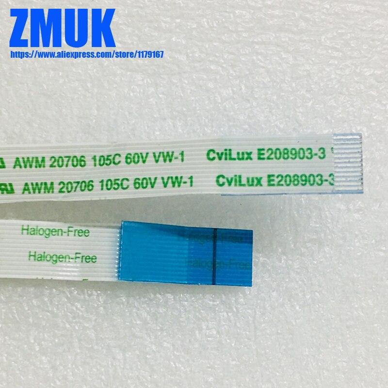 CviLux E208903-3 AWM 20706 105C 60V VW-1 Flex Ribbon Clickpad Cable For ASUS G750 G750JW G750JX G750JZ Series