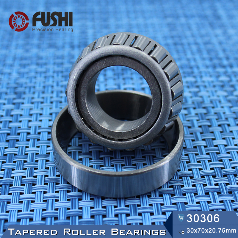 30306 Bearing  30*72*20.75 mm ( 1 PC ) Tapered Roller Bearings 30306 7306E Bearing na4910 heavy duty needle roller bearing entity needle bearing with inner ring 4524910 size 50 72 22