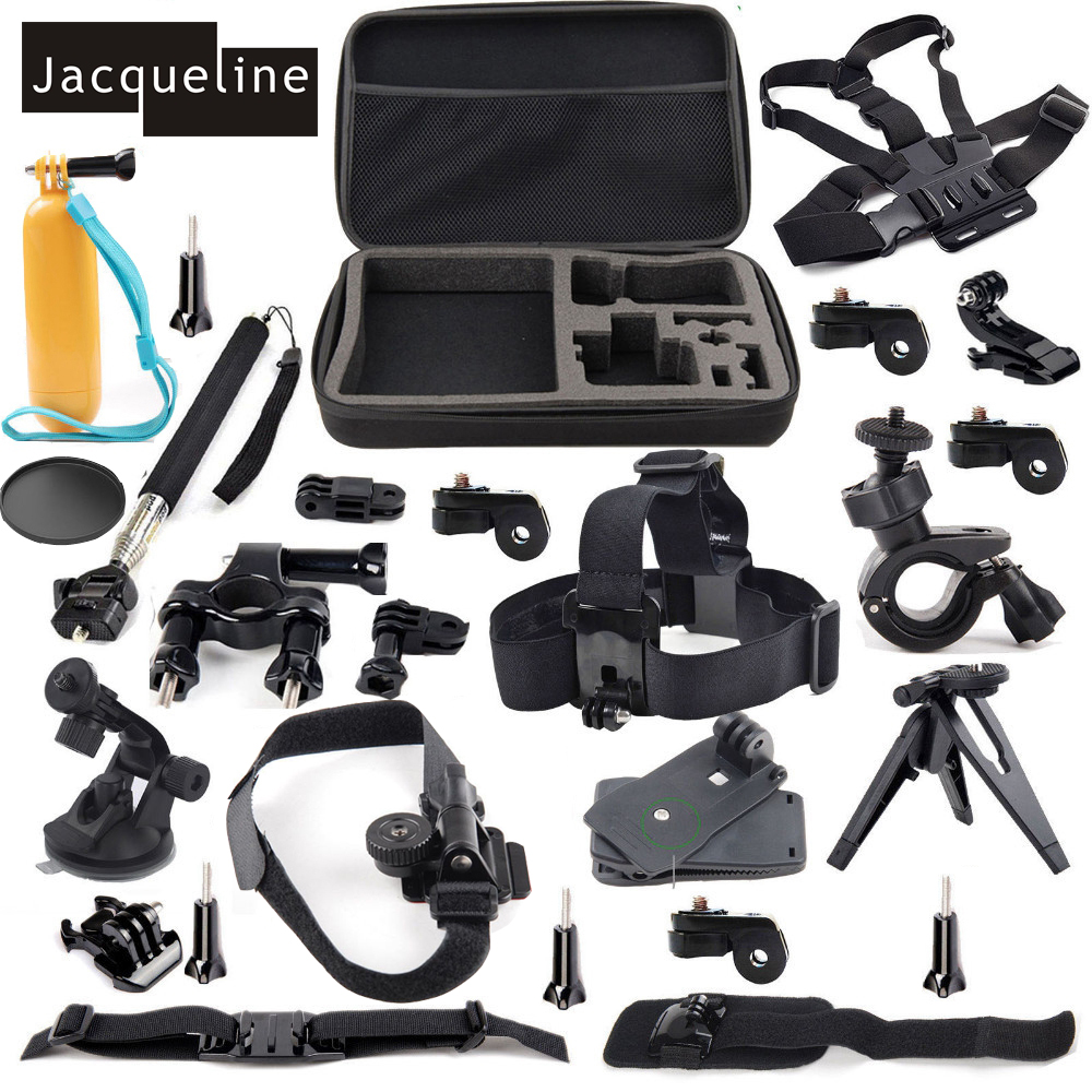 Jacqueline for Outdoor Sports Accessories Kit for Sony Action Cam HDR AS30V AS15 AS20 AS100V AS200V