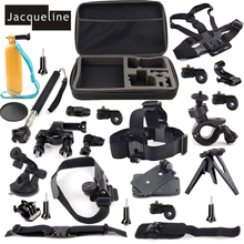 20 in 1 Outdoor Sports Accessories Kit for Sony Action Cam HDR-AS20 AS15 AS30V AS100V AS200V FDR-X100V/W 4K AZ1 Mini headband mount blt hb1 for sony actioncam hdr as200v as100v as20 as30v as15