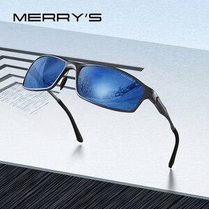 Image 1 - MERRYS تصميم الرجال الكلاسيكية سبائك الألومنيوم النظارات الشمسية HD الاستقطاب النظارات الشمسية للرجال الرياضة في الهواء الطلق UV400 حماية S8266