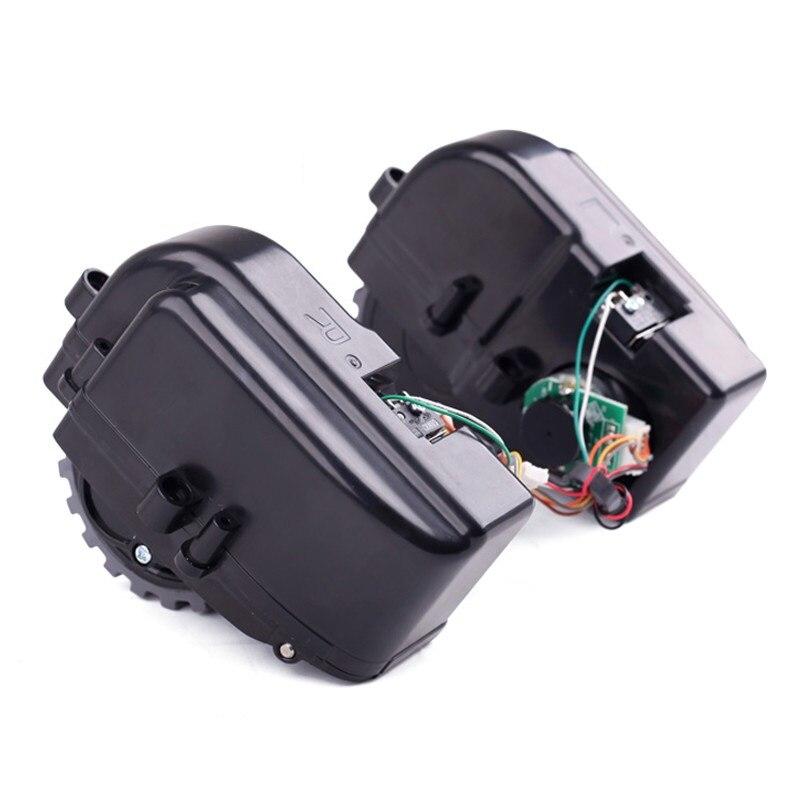 2pcs/lot Right & Left Wheels for PANDA X500 ECOVACS CR120 CEN546 CEN540 Vacuum Cleaner Replacement Wheel Accessories Parts 2pcs left