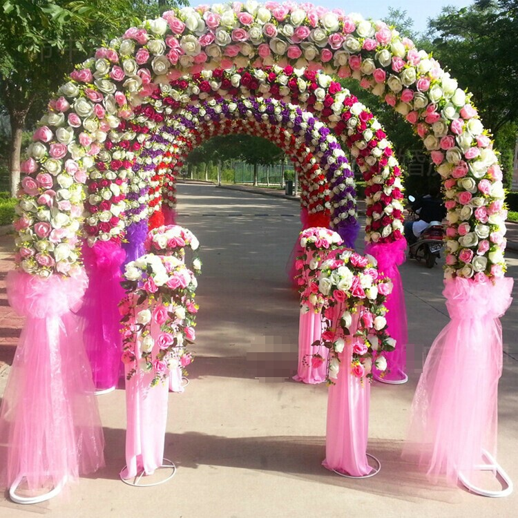 artificial flowers for wedding decoration images - wedding dress