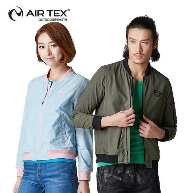 AIR TEX Men breathable sweat leisure leisure sweater travel cardigan jacket trench coat overcoat men windbreaker hooded trench