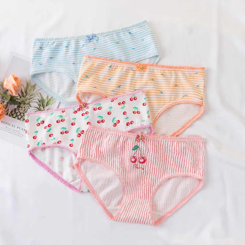 1 Trẻ Em Cotton Quần Lót Bạn Gái Trẻ Hoạt Hình In Ngắn Quần Đùi Thoải Mái Nữ Quần Lót cho 2-13 tuổi bé gái