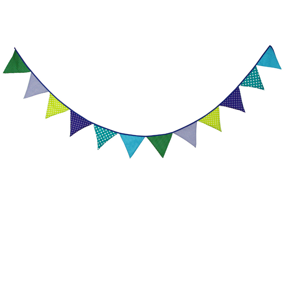 Aliexpress.com : Buy 12 Flags 3.2M table decoration bunting flag ...
