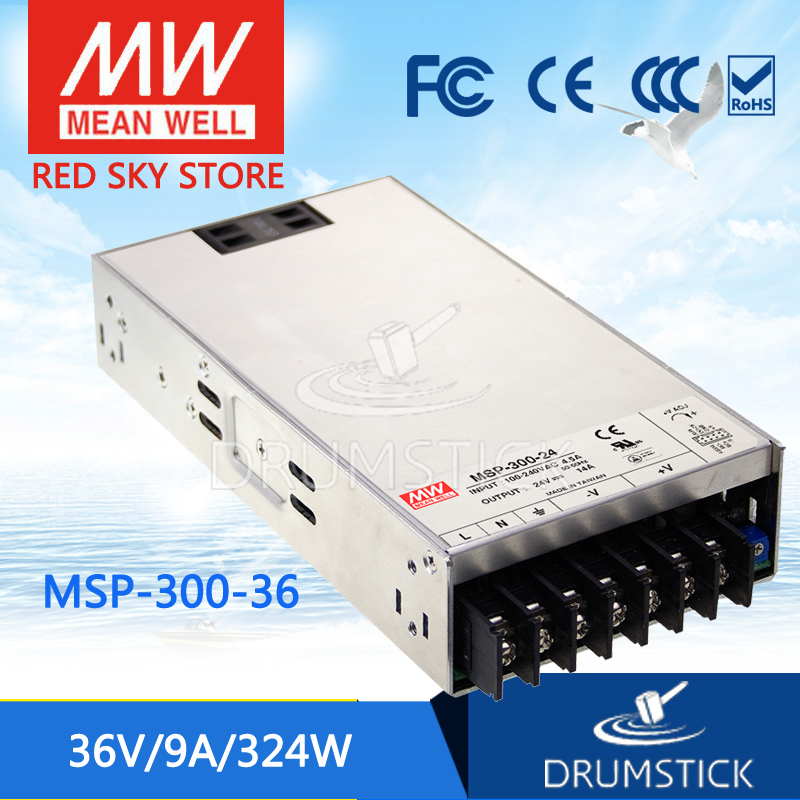 best-selling MEAN WELL MSP-300-36 36V 9A meanwell MSP-300 36V 324W Single Output Medical Type Power Supply 100% original mean well msp 100 36 36v 2 9a meanwell msp 100 36v 104 4w single output medical type power supply