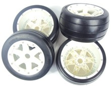 New Arrival – Heavy Duty Nylon Wheel Baja 5B slickyTyres nylon wheels and tires (4PCS/set)