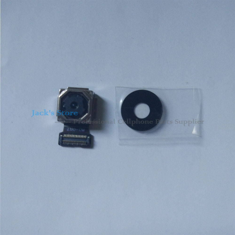 tested For <font><b>Meizu</b></font> <font><b>M3S</b></font> MINI Rear <font><b>Camera</b></font> M 3S MINI Front <font><b>Camera</b></font> Flex Cable with glass lens Repair Spare Parts image