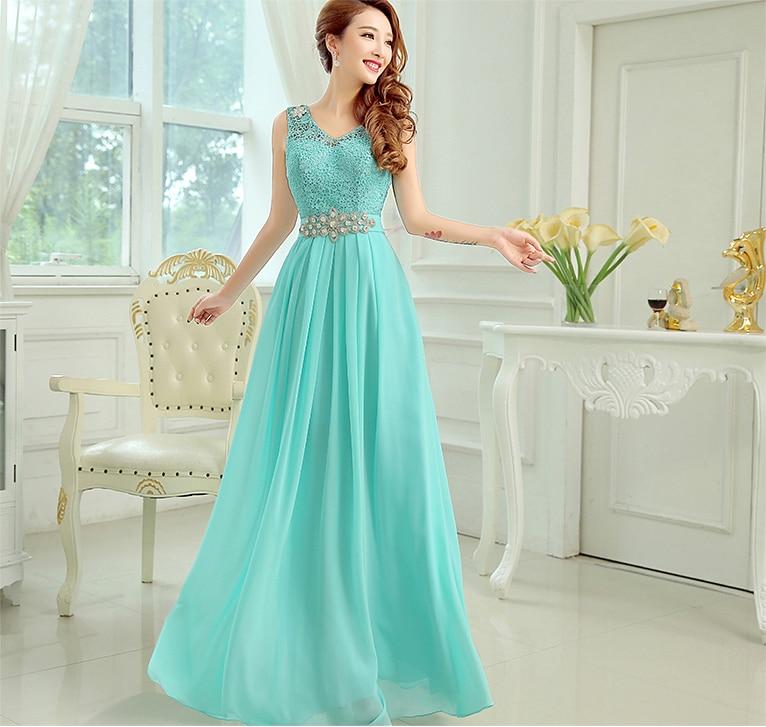 Elegant A-Line 2017 nya heta mode V-hals formell lång design elegant fest vestido longo robe de soiree kappa kvällsklänning