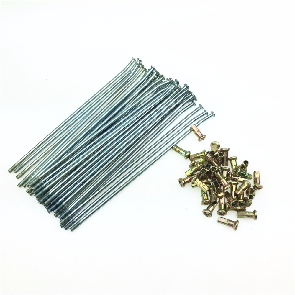 STARPAD For Motocross 17 18 19 21 Inch Wheel Accessories Motorcycle Modified T4/T6 Spoke Wire 36pcs