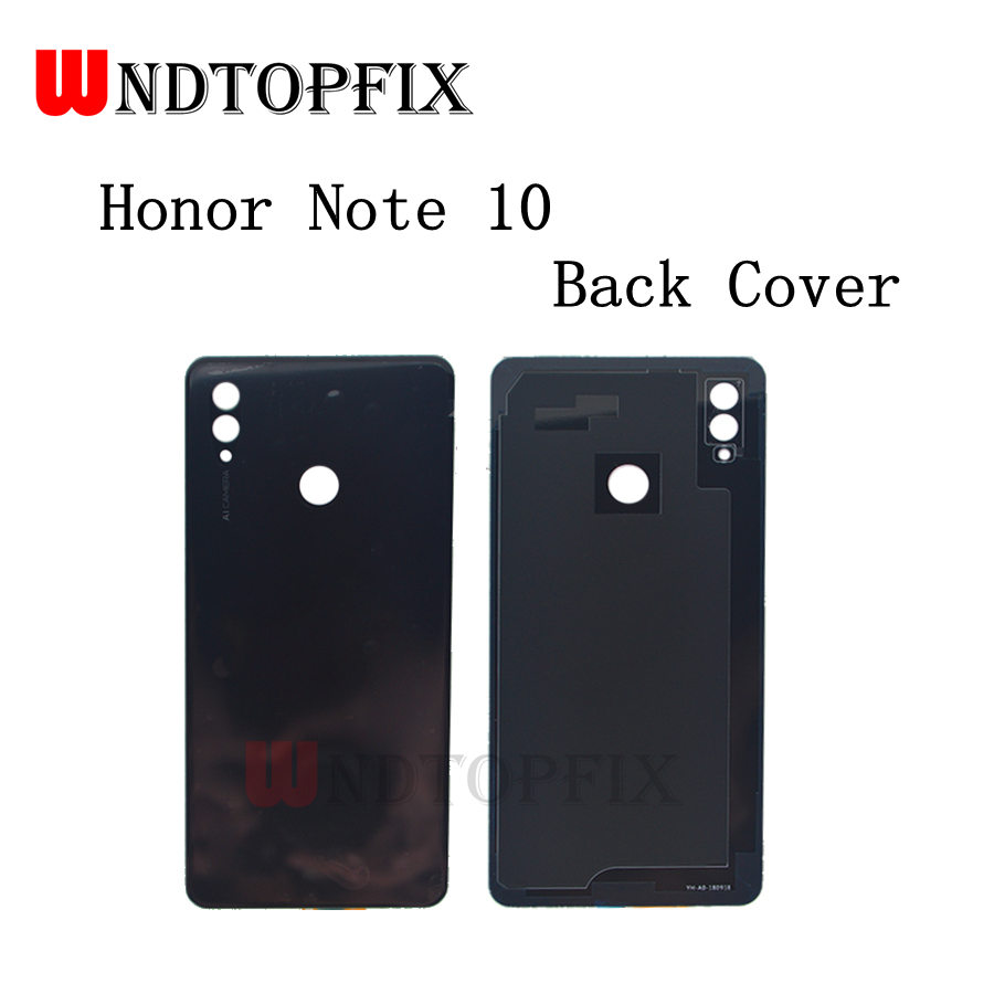 Huawei Honor Note 10 Glass Battery Back Cover Panel Rear Cover Housing Door Huawei Honor Note10 Battery Cover Replacemt Parts image