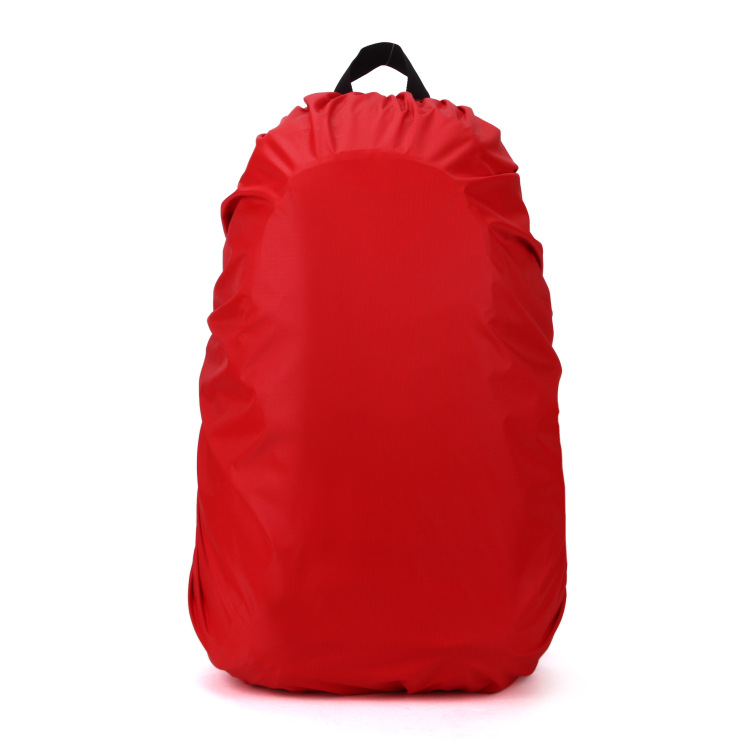 1pc 60L Waterproof Nylon Rain Bag Portable Waterproof Backpack Bag Dust Rain Cover ...