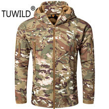 Jacket Mountaineering-Coat Tactical Waterproof Shark Soft-Shell Tad5.0 And Outdoor Large-Size