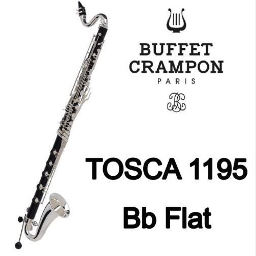 Brand New Buffet Crampon Professional Bb Bass Clarinets TOSCA 1195 Bb Professional Model Bakelite Clarinet ABS Resin boss bb 1x bass driver