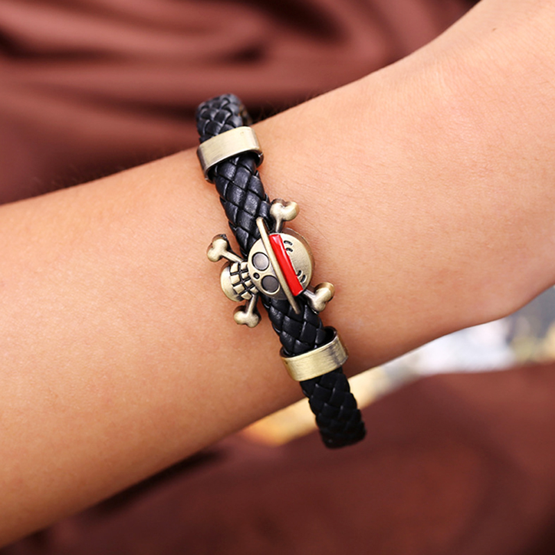 One Piece Luffy Bracelet Bangle Onepiece Figure Action Ornaments Thousand Sunny One Piece Uzumaki Naruto Dota Bracelet Circlet