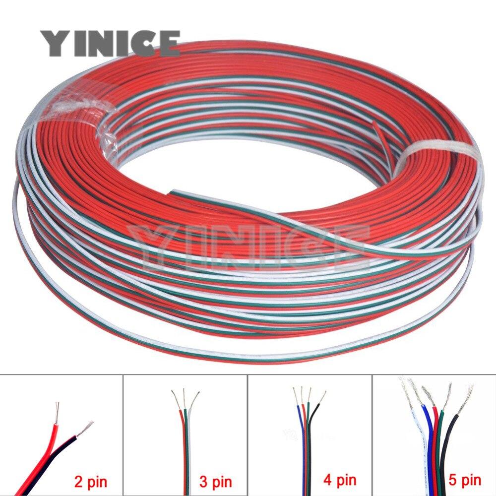 DC Power Cords Pwr cable cable 5 m 5-pos.,PUR//PVC black