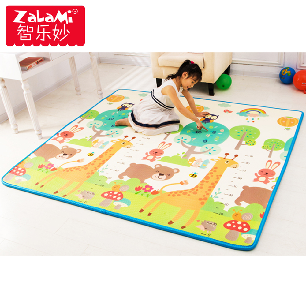 XPE Bady Crawling Play Mat For Children Non-toxic Tasteless Waterproof Non-Slip Foam Floor Rug Toys Gift beach starfish sunrise print non skip floor area rug