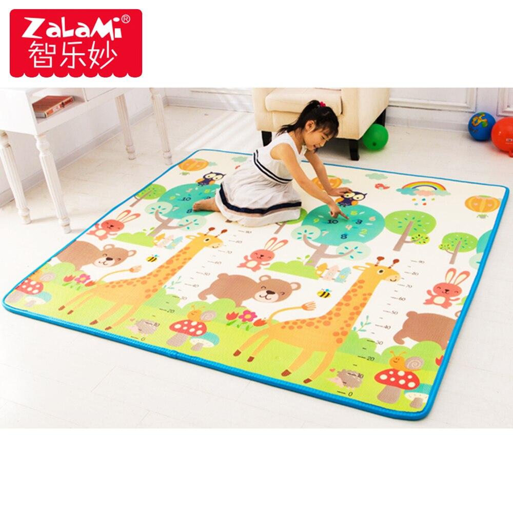XPE Bady tapis de jeu rampant pour enfants Non-toxique insipide imperméable antidérapant mousse tapis de sol jouets cadeau