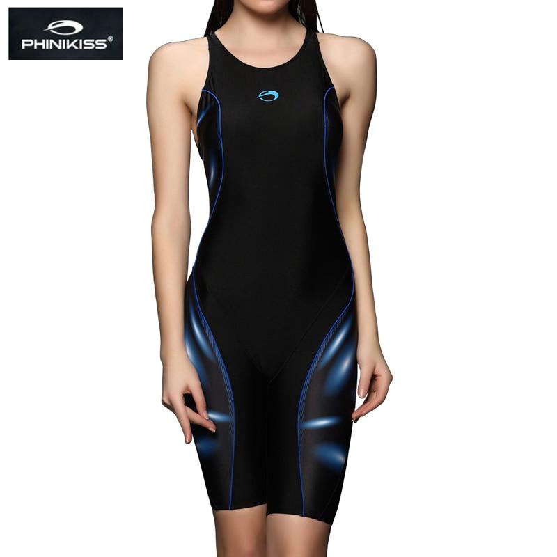 PHINIKISS Brand Competition Plus Size Swimwear Әйелдер Long - Спорттық киім мен керек-жарақтар - фото 2