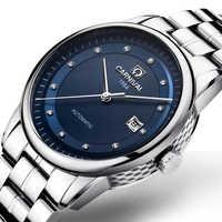 Schweiz Karneval Uhr Männer JAPAN MIYOTA Automatische Mechanische Marke Luxus Männer Uhren Sapphire reloj hombre Uhr C5668G-6