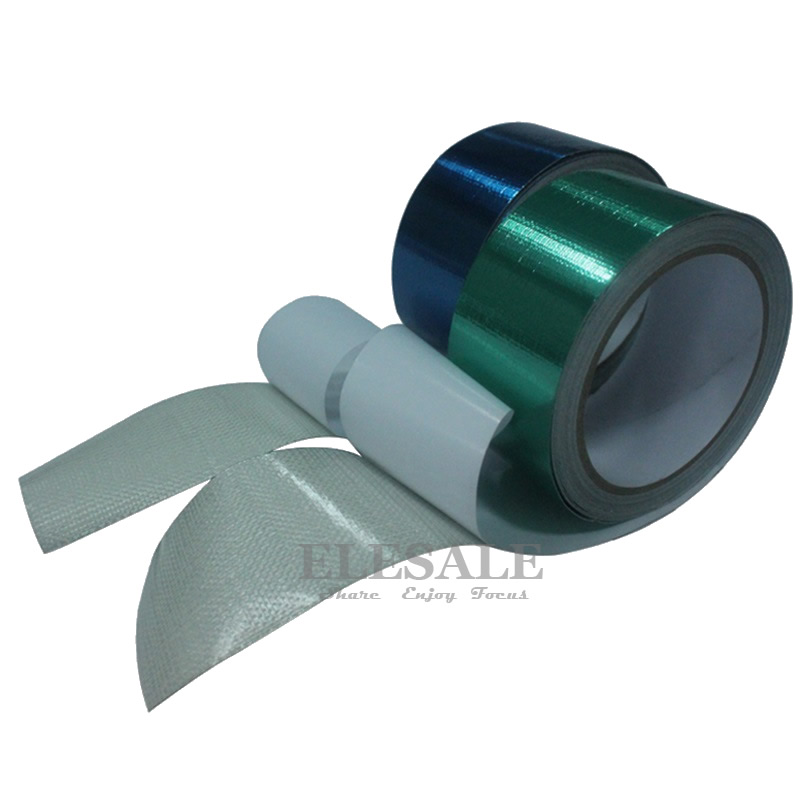 """1 Roll 48mm*8m Waterproof 1.9"""" Width Self Adhesive Tape For Outdoor Tarp Sun Shelter  Repairing Durable Oil Proof Tarpaulin Tape