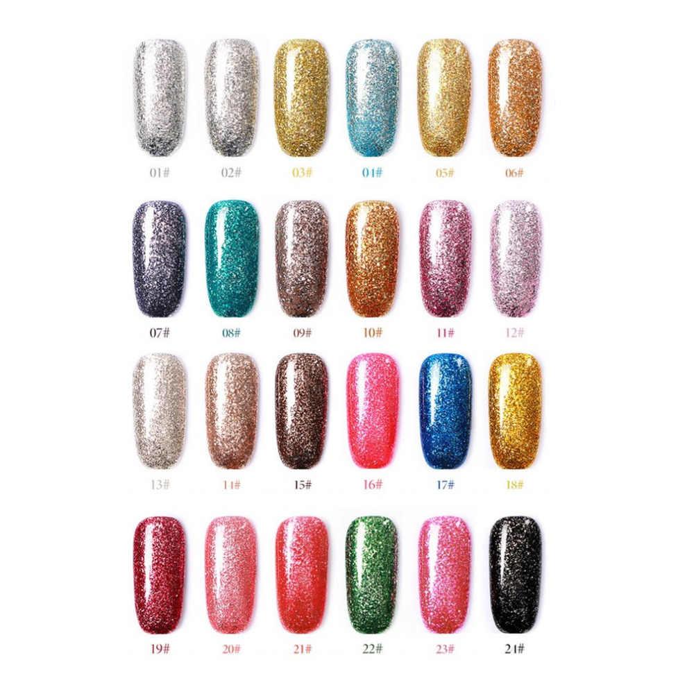 2018 New Free Shipping Nail Art Design Manicure Venalisa 60color 10ml Soak Off Enamel Gel Polish Led Uv Gel Nail Polish Lacquer