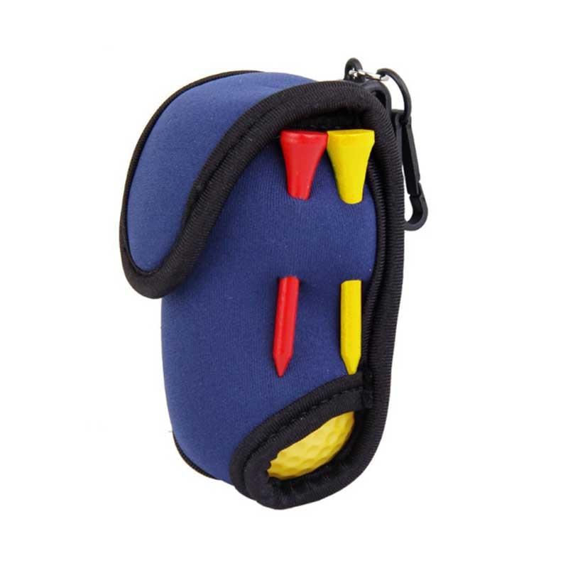Dark Blue Golf Bag Golf Ball Small Waist Pack Small Bags Can Hold Two Balls Accessories Golf Ball Golf Tees SS
